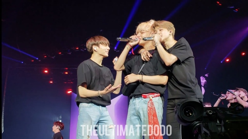 180909 Answer: Love Myself @ BTS 방탄소년단 Love Yourself Tour in LA Fancam 직캠