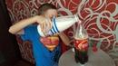 EXPERIMENT, MILK vs COCA COLA! Что будет, если налить молоко в кока-колу