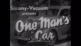 SOCONY-VACUUM WWII ERA AUTO CARE FILM