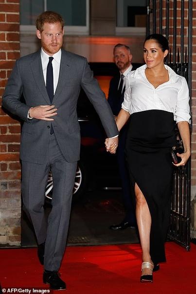 Меган Маркл и принц Гарри приехали на церемонию вручения премий Endeavour Fund Awards К числу гостей ежегодной премии Endeavour Fund Awards сегодня присоединились 37-летняя Меган Маркл и