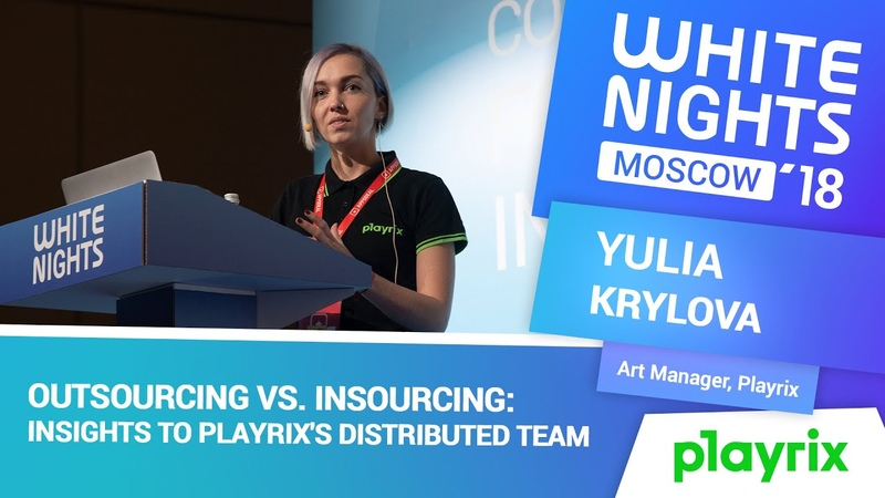 Yulia Krylova Playrix Outsourcing vs Insourcing Insights to Playrix's Distributed Team