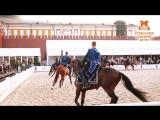Показательная программа Кавалерийского почетного эскорта Президентского полка и Кремлевской Школы Верховой Езды