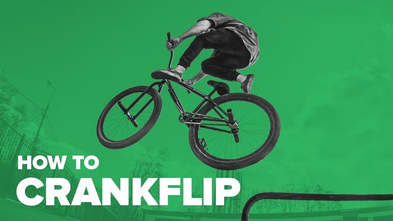 Как сделать крэнкфлип на MTB BMX. Трюки на велосипеде. How to Crankflip