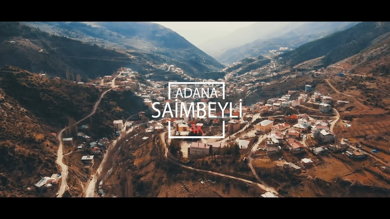 Adana Saimbeyli Havadan 4K - DJI Mavic Air.!!