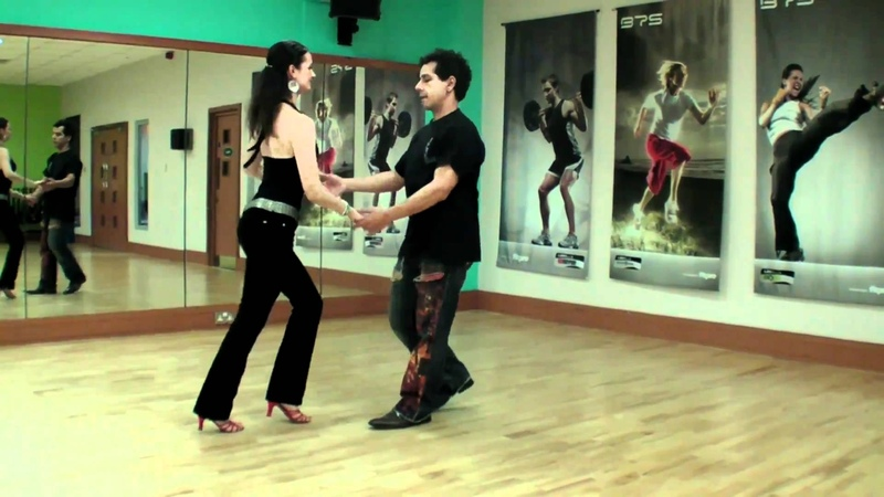 Beginners Salsa Steps Basic Turns to Slow Salsa Music From Salsa Beginners lessons video