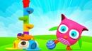 Новая серия и сборник - Розовый совенок Хоп Хоп для малышей