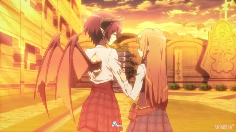 Shingeki no Bahamut Manaria Friends Ярость Бахамута Друзья из Манарии 4 серия Озвучка ArtLight LolAlice AniMedia