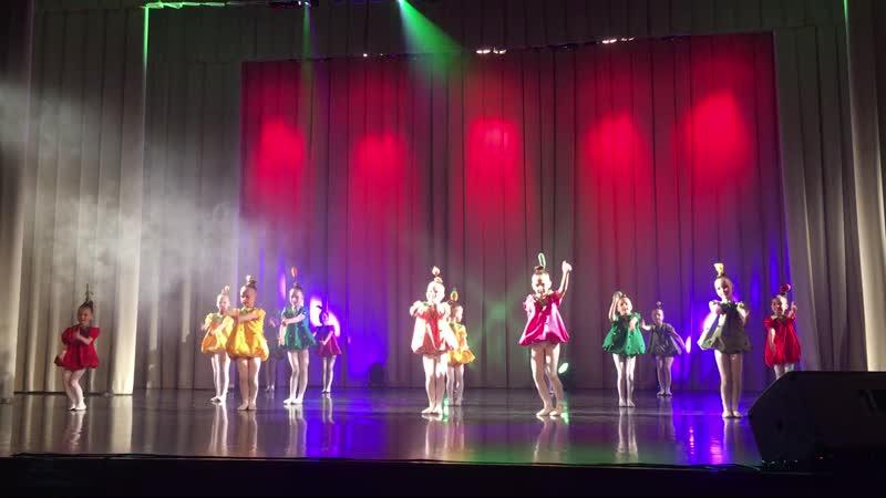 Группа Палитра. Танец Озорные витаминки 18.05.2019
