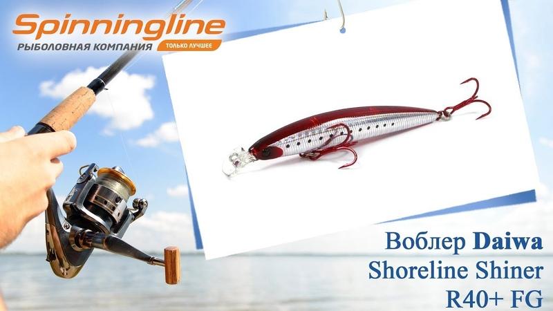 Воблер Daiwa Shoreline Shiner R40 FG