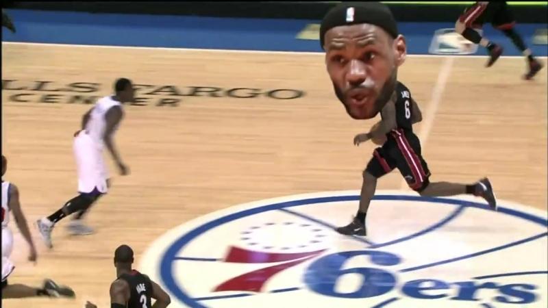 2011 NBA Big-Head Playoffs Commercial