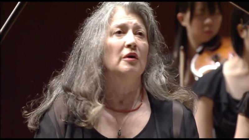 Martha Argerich plays Bartók's Piano Concerto No.3 (cond. Bashmet) - Japan, 2007