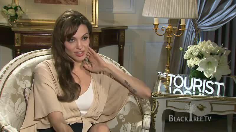Турист Интервью Анджелины Джоли для BLACK