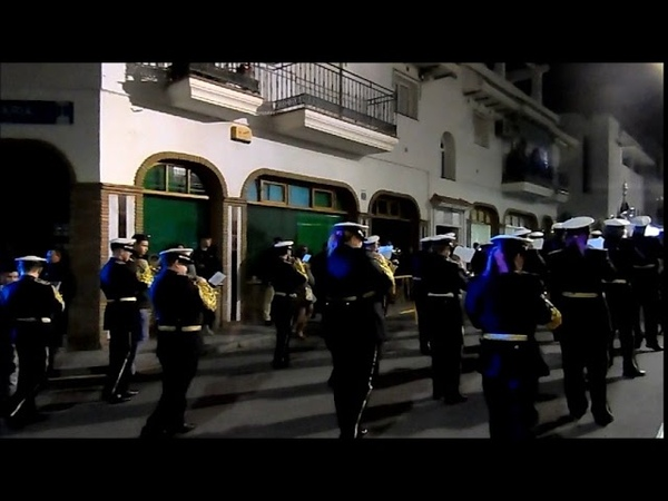Marcha A Ti MADRE, Banda de CCTT Los Moraos, Pollinica ALHAURIN de la TORRE 2018, 23/03