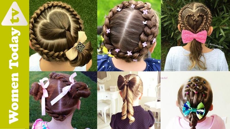 Những Kiểu Tóc Dễ Thương Cho Bé Mẹ Nhìn Là Mê   Cute Hairstyles For Little Girls