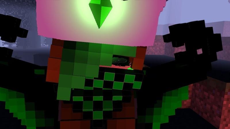Monster minecraft animation (mine-inator)общение