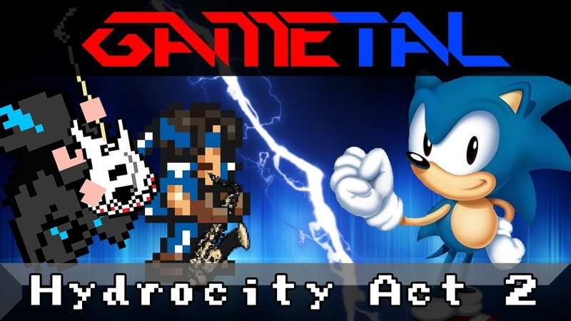 Hydrocity Zone Act 2 Sonic the Hedgehog 3 Sonic Mania GaMetal Ft InsaneInTheRainMusic