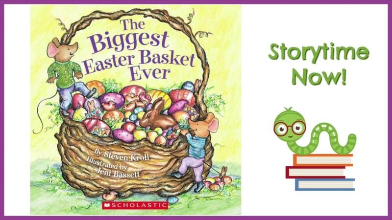 The Biggest Easter Basket Ever - By Steven Kroll   Children's Easter Books Read Aloud