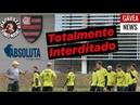 Prefeitura exige que Flamengo tenha interdição total de seu CT! Time treinou normal hoje! Entenda!