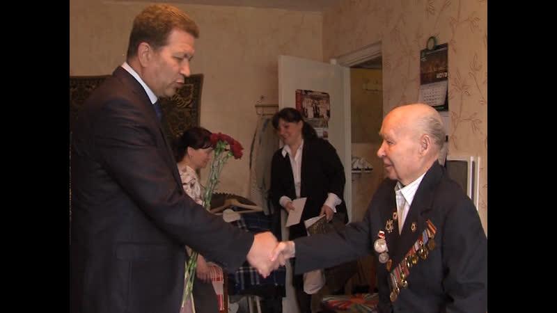 В Марий Эл поздравили ветерана Великой Отечественной Василия Игнатьевича Соколова