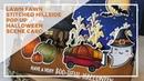 Lawn Fawn Halloween Stitched Hillside Pop Up Card