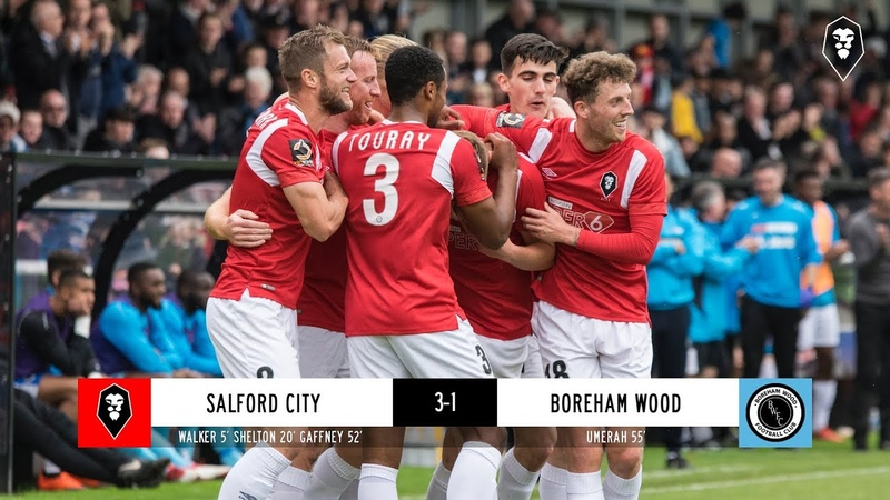 Salford City 3-1 Boreham Wood - National League 22/09/2018
