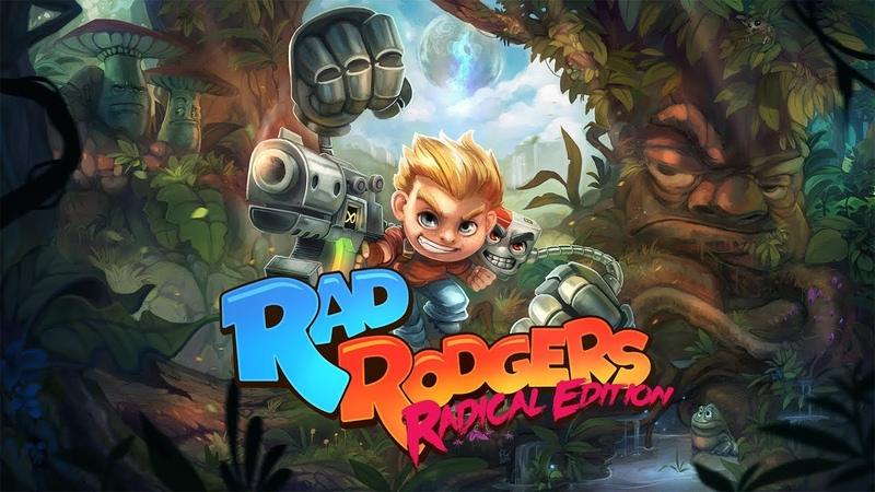 Rad Rodgers - Radical Edition Nintendo Switch / PS4 / Xbox One / PC