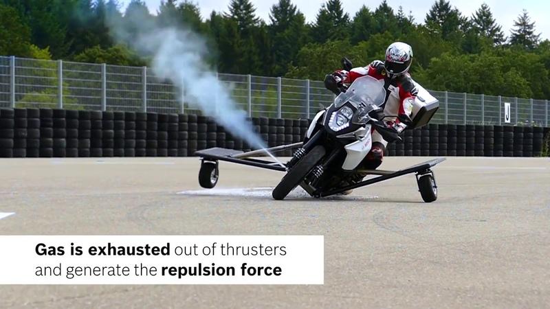 Bosch anti-slide Rutschverhinderung gas system- Nieuwsmotor.nl