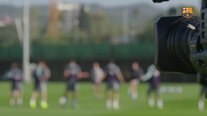 Back to work to prepare the Champions League match against Inter.mp4