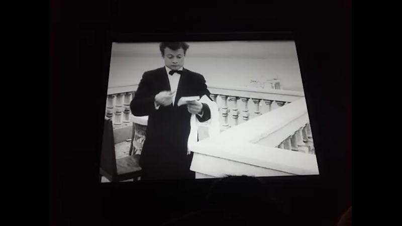 Человек за бортом 1957г Курсовая ВГИКа