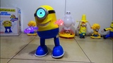 Dancing Minion Toy w Flashing Lights! Amazing Battery Operated Light Up Toy!