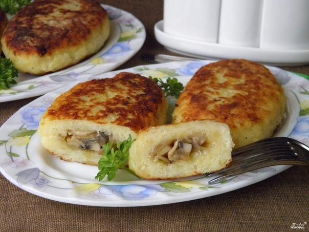 3aазы картофельные с грибами