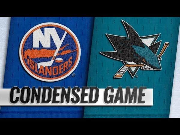 New York Islanders vs San Jose Sharks – Oct.20, 2018 | Game Highlights | NHL 18/19 | Обзор матча