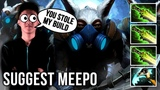 New Meepo GOD! Suggest Meepo with Abed Build 3x Ethereal Blade Build - EPIC Dota 2