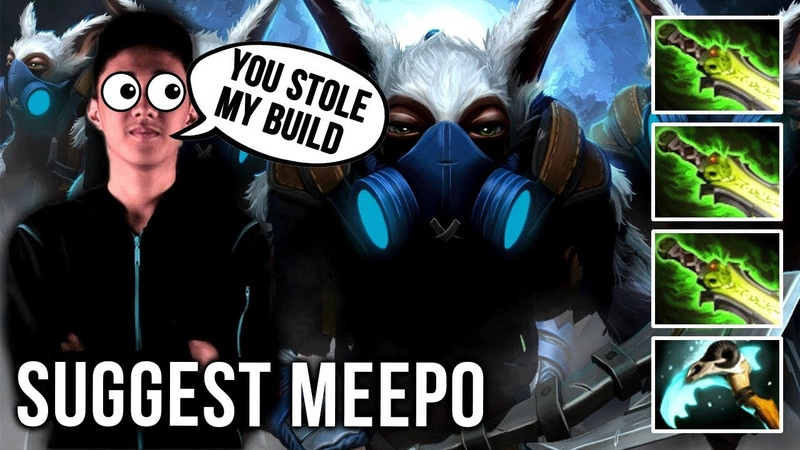 New Meepo GOD?! Suggest Meepo with Abed Build 3x Ethereal Blade Build - EPIC Dota 2