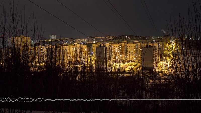 Finnish Valley District in the evening. Cheboksary, Russia. (Field Recordings)