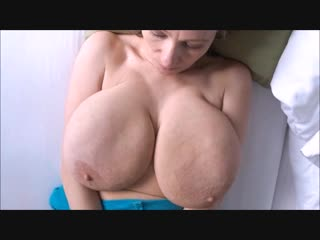 Saggy boobs barbara(perfect wobbly floppy saggers)hd