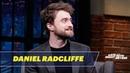 Дэниел Рэдклифф Late Night with Seth Meyers 22 11 2018