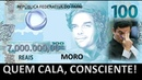 Os milhões de Flávio Bolsonaro Record blinda As perguntas que eu faria a ele Moro se cala