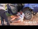 Малолетки разбили машину ржака 18