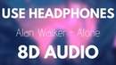 Alan Walker Alone 8D AUDIO