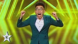 Magician Act TK Jiangs Golden Buzzer Audition! AXN Asias Got Talent 2019