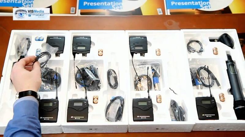 Сравнительный обзор Радиосистема Sennheiser EW 100 ENG G3, EW 112, EW 122, EW 135