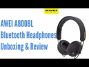 AWEI A800BL Wireless Headphones - Unboxing and Review