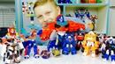 Бейблэйд ТОБОТЫ против ТРАНСФОРМЕРОВ Машинки Роботы из Мультика для мальчиков