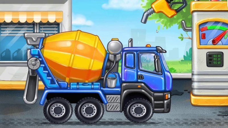 WOW Truck games for kids build a house car wash PART1 GGK GAME МУЛЬТ ДЕТСКИЙ МАШИНКИ ИГРА ПРИКОЛ