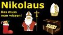 Nikolaus - 6. Dezember - Was man wissen muss!