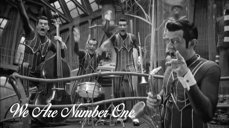 We Are Number One but it's a jazz cover