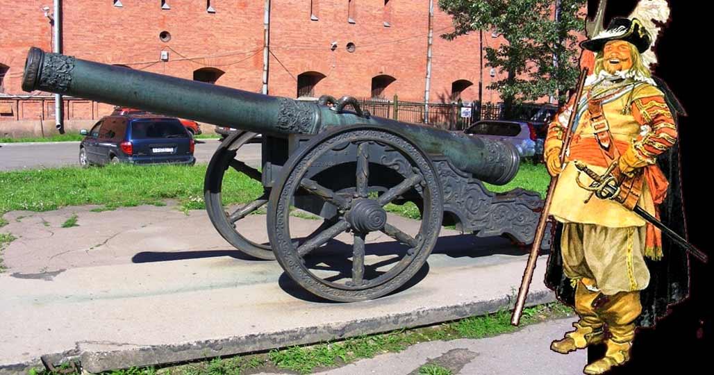 Артиллерия шведской армии