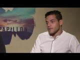 PAPILLON Interviews (Charlie Hunnam, Rami Malek) _ AMC Theatres (2018)