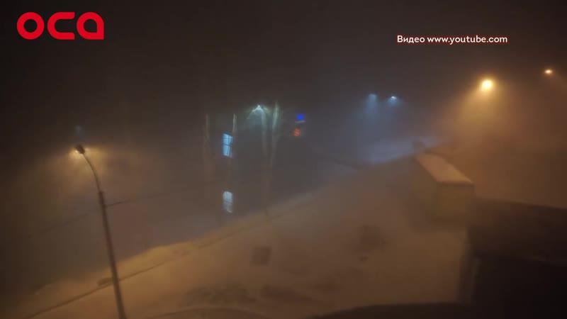 Как Ачинск пережил штормовой ветер